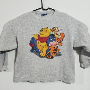 Winnie the Pooh Vintage Womens Medium Sweatshirt